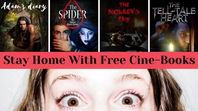 Stay Home With Free Cine-Books (cover)